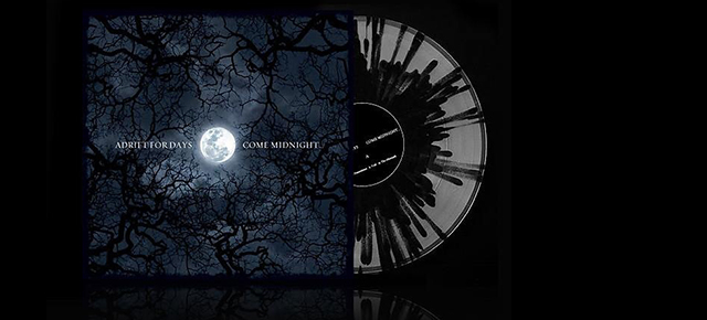 Adrift for Days 'Come Midnight...' re-released on vinyl