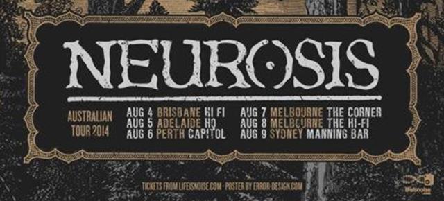 Neurosis Australian tour