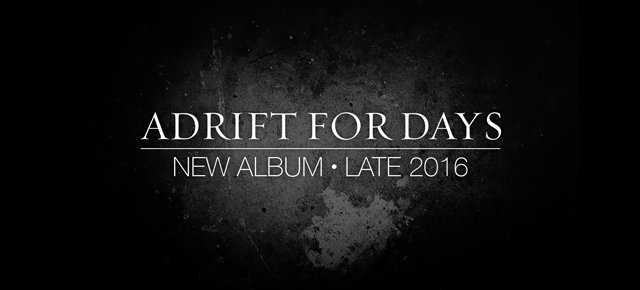 Adrift for Days new album