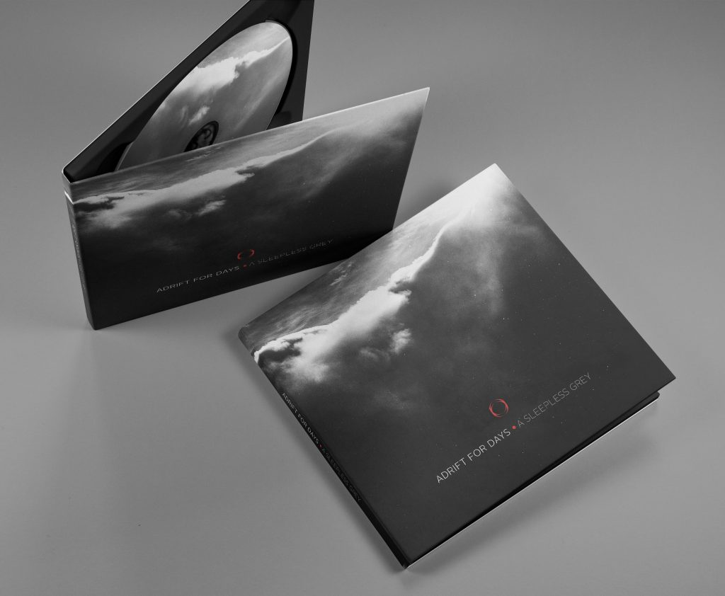 Adrift For Days - A Sleepless Grey CD digipak